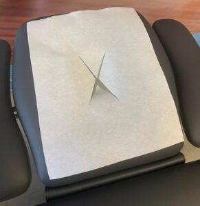 Non-woven Hoofdbeschermers X-cut