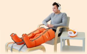 Air relax pressotherapietoestel